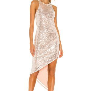 LOVERS AND FRIENDS Rosalee Sequin Gown